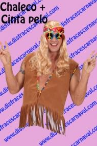 chaleco hippie