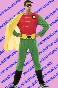 disfraz robin batman adulto