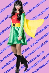 disfraz chica robin batman