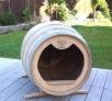barril casa perros