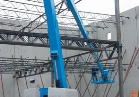 GENIE Z-80/60 Altura de trabajo hasta 26,4 m.