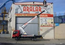 NISSAN NT400 CABSTAR MOVEX TLR15-20 Altura de...