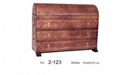 Furniture cover with leather
