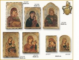 Byzantine icon, hand painted