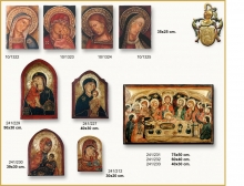 TRIPTYCH, ICON AND PANEL