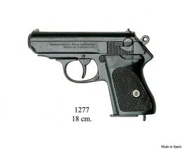 Replica Pistola semiautomática, negra