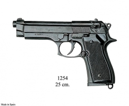 Réplica pistola Beretta, 92 F 9 mm. Parabellum