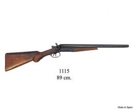 Escopeta de 2 cañones recortados.