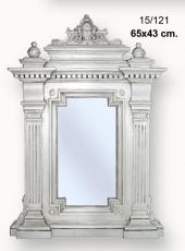 Espejo marco cara.
