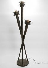 Wrought iron, floor lamp