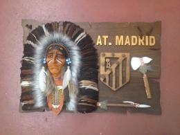 Plafon cabeza indio