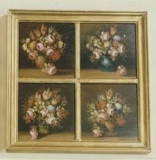 Cuadro cuarteto flores