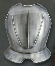 Peto liso armadura