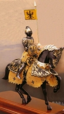 Armadura a caballo Príncipe Negro