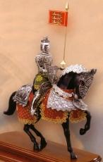 armadura a caballo prímcipe Valiente