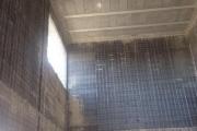 salon doble altura, de seis metros de alto