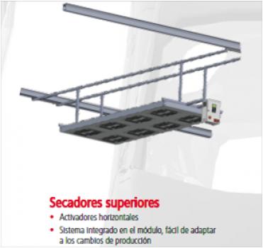 Secadores superiores