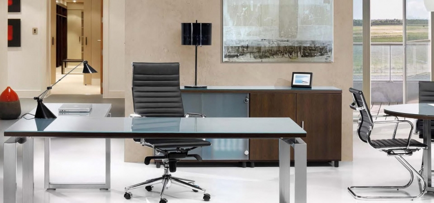 Muebles de oficina baratos: mesa de oficina modelo Volga