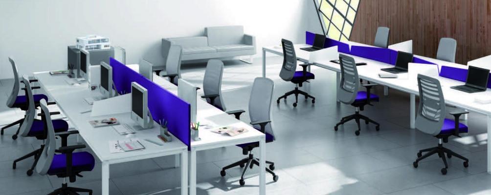 Muebles de oficina baratos: mesa modelo Metrik, sillas y sillones de oficina