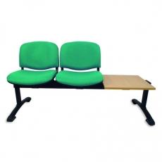 Bancada con asiento y respaldo tapizado Venus