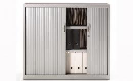 Armarios metálicos serie GA con puertas correderas horizontales y verticales