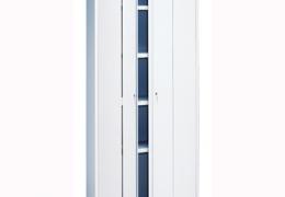 Armario con puertas plegables de 198x95x42 cm.