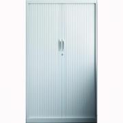 Armario con puertas de persiana Md. 198x100x45 cm.