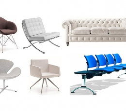 Salas de espera, sofás y bancadas