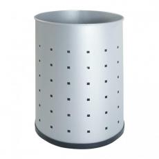 Papelera metálica con perforados, mod. 101-R