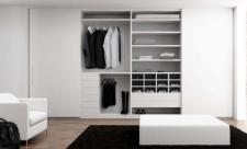 Interior de armario melamina blanca 19 mm con...