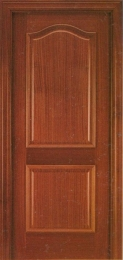 Puerta blindada Provenzal biselado en sapelly