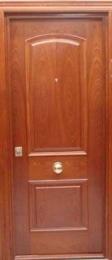Puerta blindada Arco Rebajado Biselado sapelly...