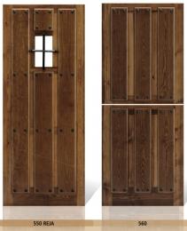 Puerta de Entrada Mod. 550 Reja y 560