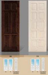 Puerta maciza de pino Serie 106 y 110