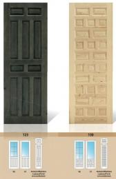 Puerta maciza de pino Serie 123 y 130
