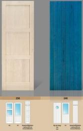 Puerta maciza de pino Serie 230 y 240