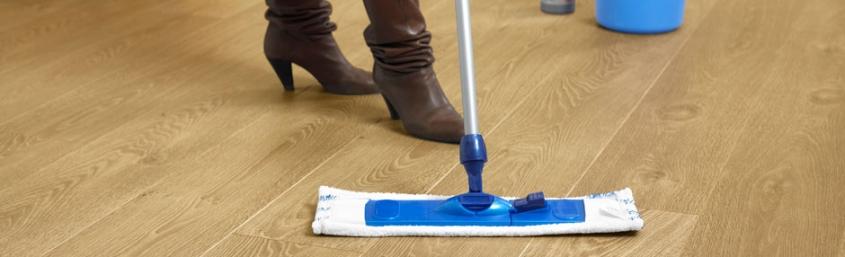 Limpieza de un suelo laminado Quick-Step