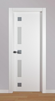 Puertas lacadas en blanco ó blanco roto ó RAL