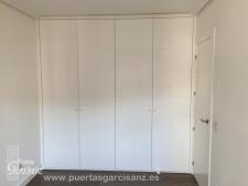 Frente de armario abatible lacado blanco