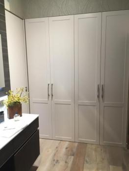 Armarios y puertas lacadas en blanco siempre tendencia - Armario madera blanco ...