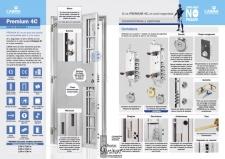Puerta Acorazada Premium 4C grado 4 C de seguridad...