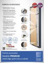 Puertas Acorazadas Tesa Premium Grado 4 y 4C