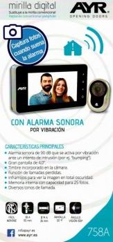 Mirilla Digital 758A de AYR en Valladolid