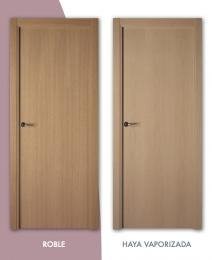 Puerta de madera Lisa Veta vertical Mod. L-100