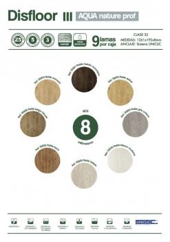 Nueva colección de suelos laminados Disfloor Top nature prof en Valladolid AC5 y AC4