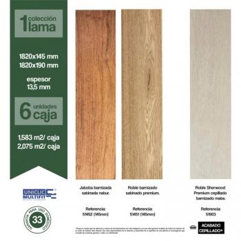 Nueva colección de parquet flotante de madera en Valladolid Diswood III Top