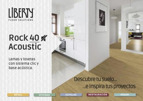 Nueva colección de suelos de vinilo Liberty Rock 40 Acoustic en Valladolid