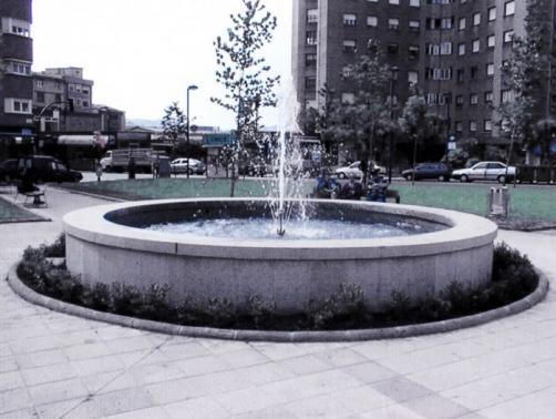 Fuente para parques y jardines
