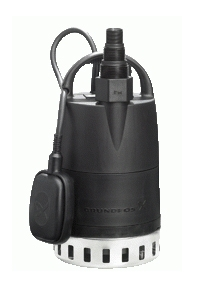 Bomba sumergible en acero inoxidable 250V. Con interruptor de nivel