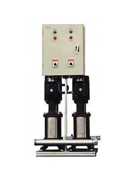 Grupo para aumento de agua apresión con bombas verticales
